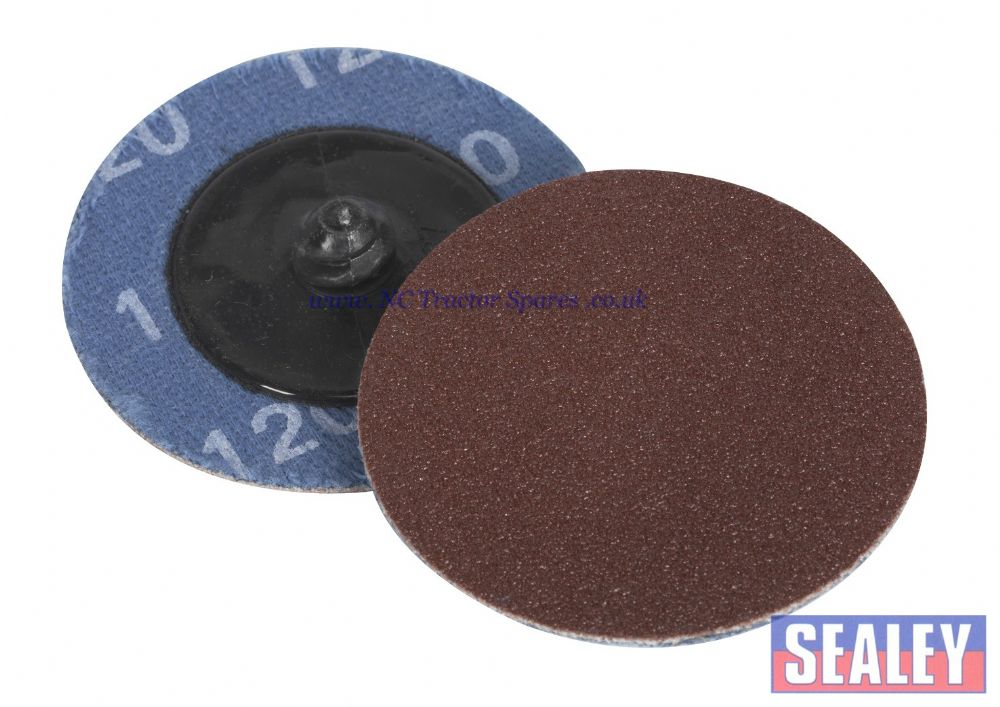 Quick Change Sanding Disc 50mm 120Grit Pack of 10